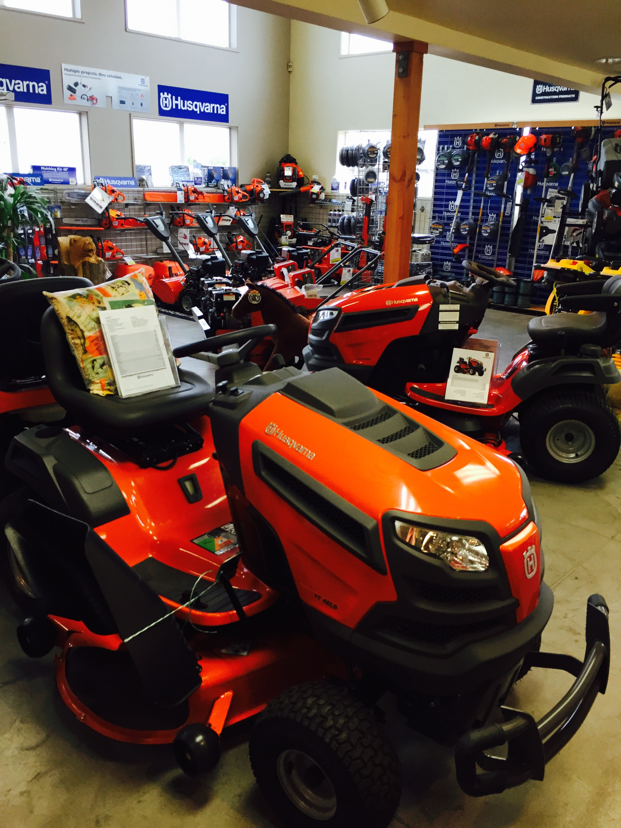 Husqvarna Dealer, Birch Equipment, Mowers, Lawn Tractors